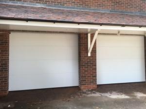 T: Hormann LPU42 L rib sectional garage door