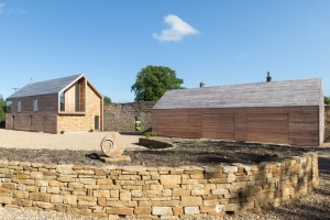 F1: Hormann Open for Infill timber garage doors: house was shortlisted for Grand Designs House of the Year 2017