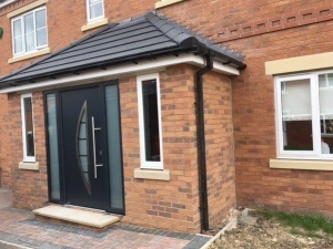 Q: Hormann Thermo65 TPS900 front entrance door in Anthracite Grey