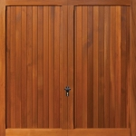 Fort Budget Cedar Garage Doors