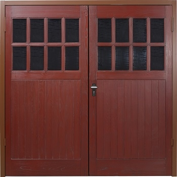 Fort Kielder GRP Side-Hinged Garage Doors