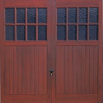 Fort Kielder GRP Woodgrain garage door