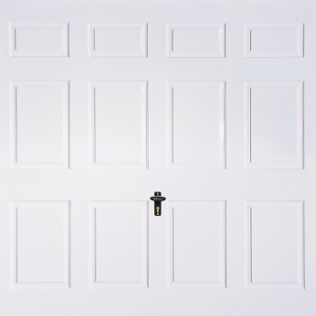 Fort Regent GRP Gloss White garage door