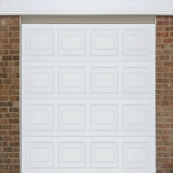 Alutech Georgian Woodgrain sectional garage door