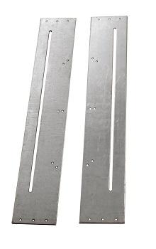 Slotted Door Gear Fixing Plates