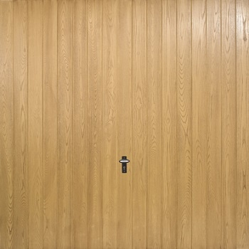 Fort Milton GRP Woodgrain garage door