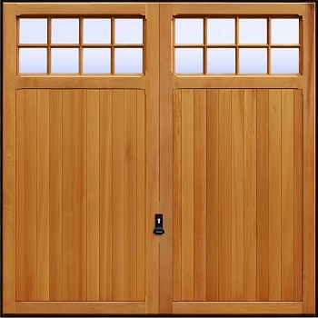 Garador Ashton Cedarwood Garage Door