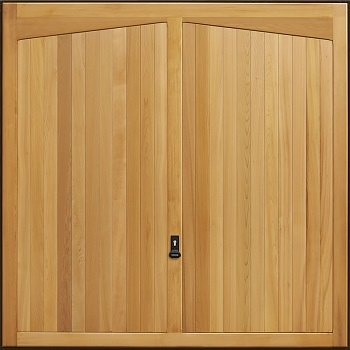 Garador Barrington Cedarwood Garage Door