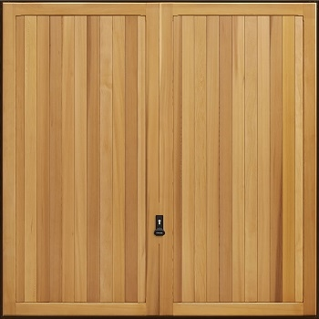Garador Kingsbury Cedarwood Garage Door