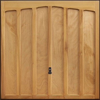 Garador Tudor Cedarwood Garage Door