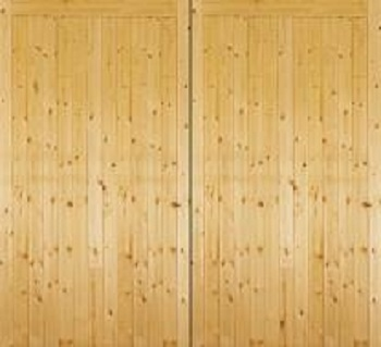 Jeldwen Softwood Side-Hinged garage doors
