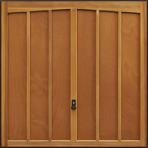 Garador Bosworth Cedarwood Garage Door
