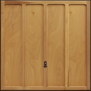 Garador Grantham Cedarwood Garage Door