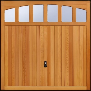 Garador Rochdale Cedarwood Garage Door