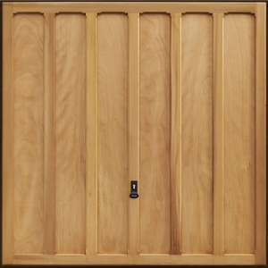 Garador Seymour Cedarwood Garage Door