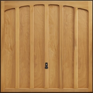 Garador Shaftesbury Cedarwood Garage Door