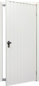 Fort Vertical Rib Steel Side Door