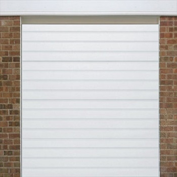 Alutech S-Ribbed Smooth sectional garage door