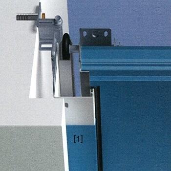 Decograin cover profiles to hide white frame legs