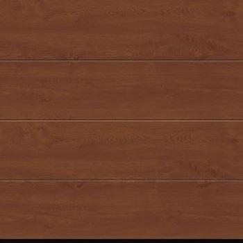 Hormann LPU67 Decograin Golden Oak L-rib