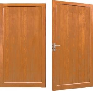 Woodrite Thetford Accoya Side-Hinged Garage Doors
