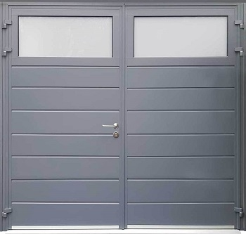 Carteck Traditional Centre Horizontal Rib in Grey