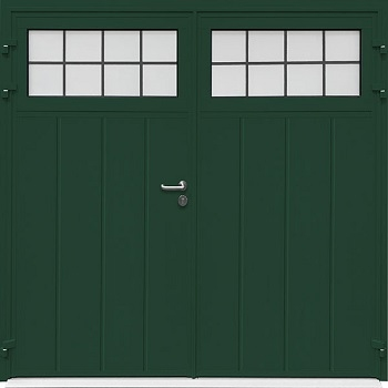 Carteck Traditional Centre Vertical-Rib Side-Hinged in Green