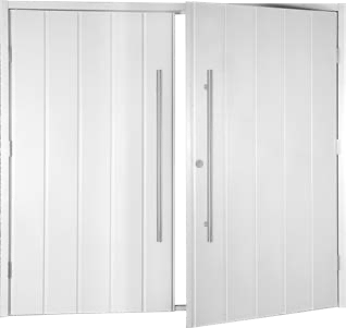 Doors come with cable latches and shoot bolt security as standard