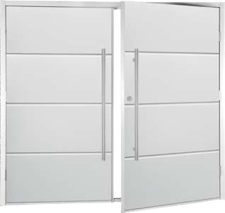 Fort Horizontal Wide Rib Side-Hinged with 1200mm D-handles
