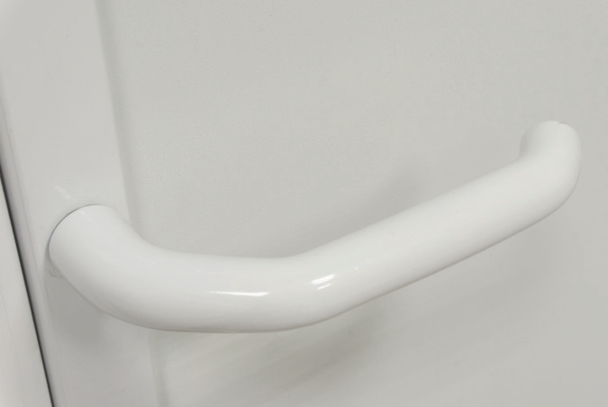standard white handle