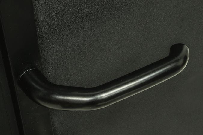 standard black handle
