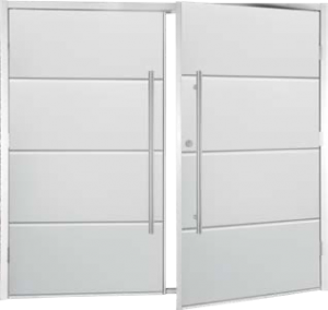 Fort Horizontal Wide Rib SideHinged with 1200mm Dhandles