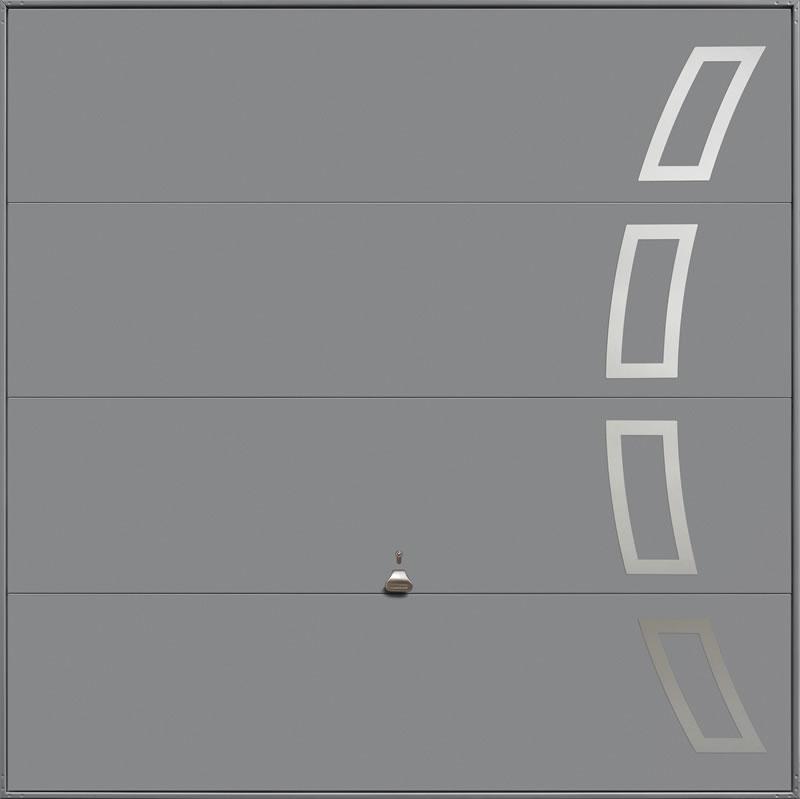 Garador Design Range Style 104 in Grey Aluminium