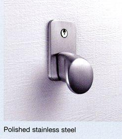 Hormann Polished Stainless Steel Handle & Lock Kit for Sectional Door