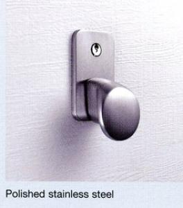 Hormann Polished Stainless Steel Handle  Lock Kit for Sectional Door
