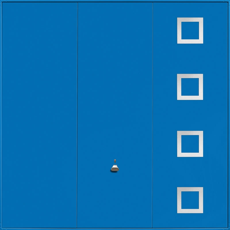 Garador Design Range Style 201 in Signal Blue