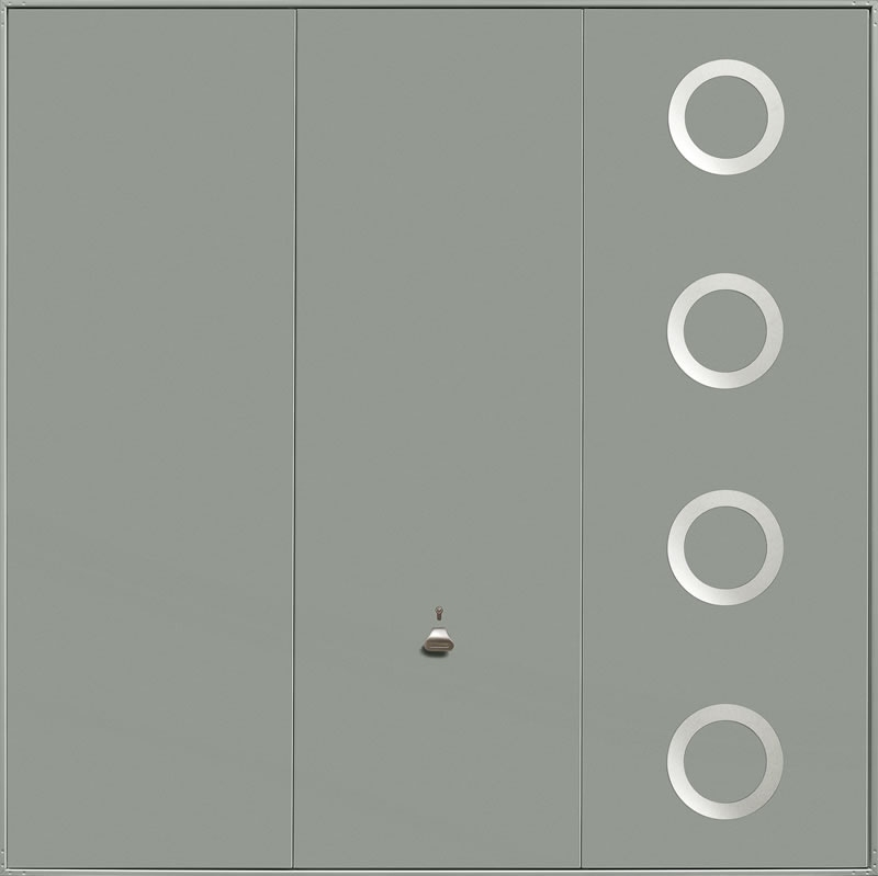 Garador Design Range Style 202 in Stone Grey