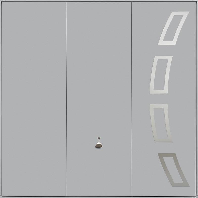 Garador Design Range Style 204 in White Aluminium