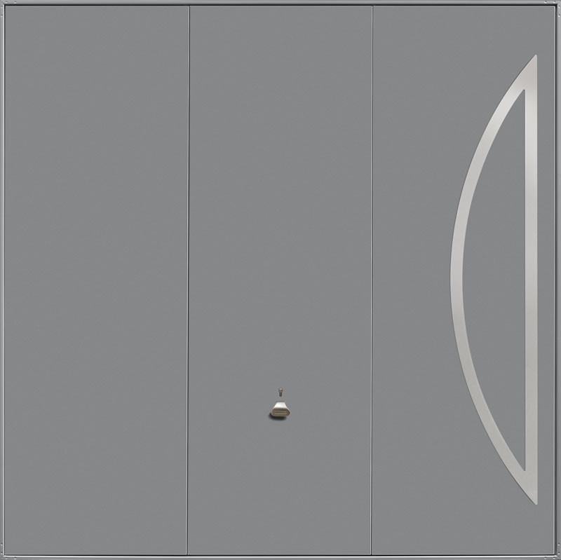 Garador Design Range Style 212 in Grey Aluminium