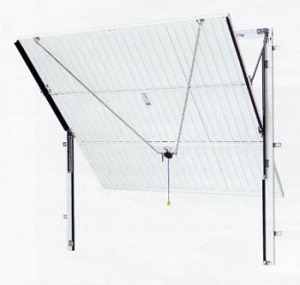Canopy Door on Steel Frame
